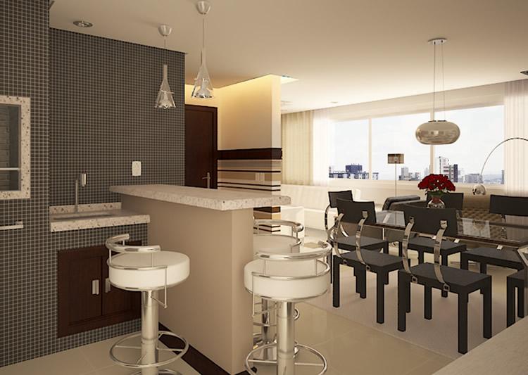 Churrasqueira / Espaço Gourmet Apartamento